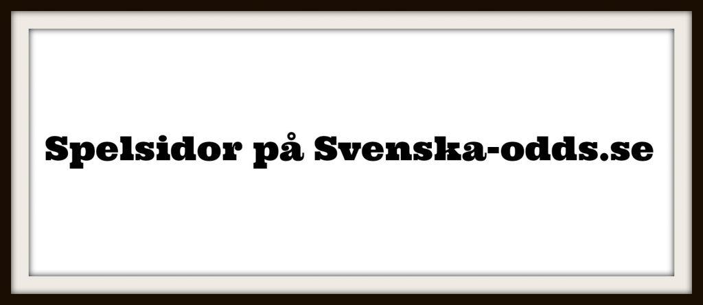 spelsidor på svenska-odds.se