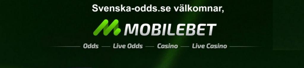 Mobilebet casino - svennska-odds.se