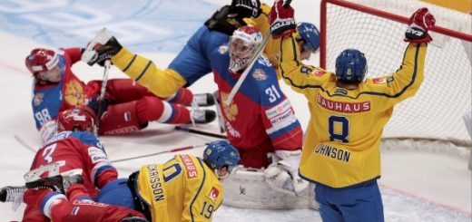 Sverige mot Kanada Hockey VM Final