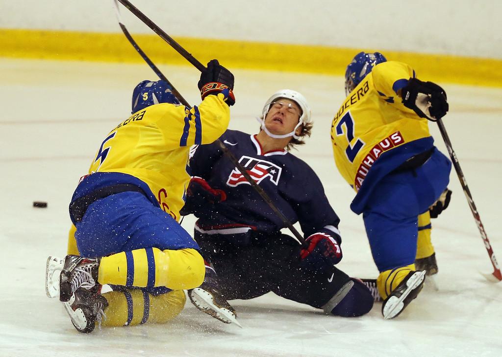 Semifinal Sverige mot USA