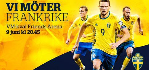 Speltips Sverige mot Frankrike
